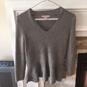 Never worn! Long sleeve gray sweater